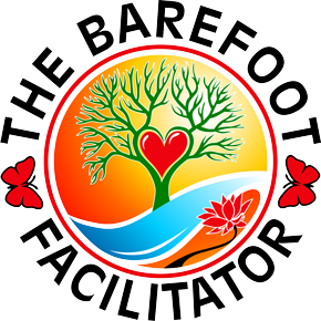 The Barefoot Facilitator Retina Logo