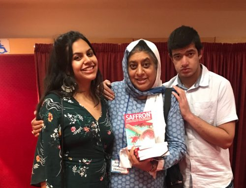 Rehana at Saffron Book Launch