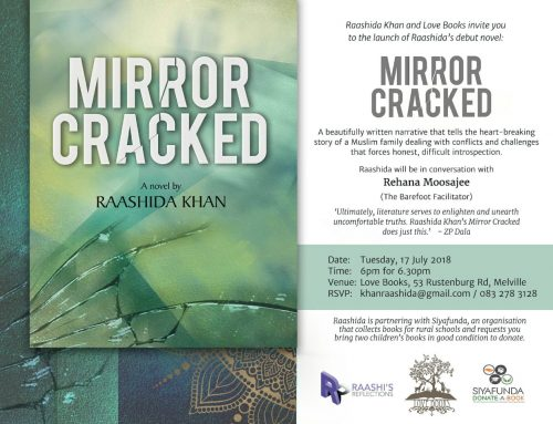 Mirror Cracked Book Launch